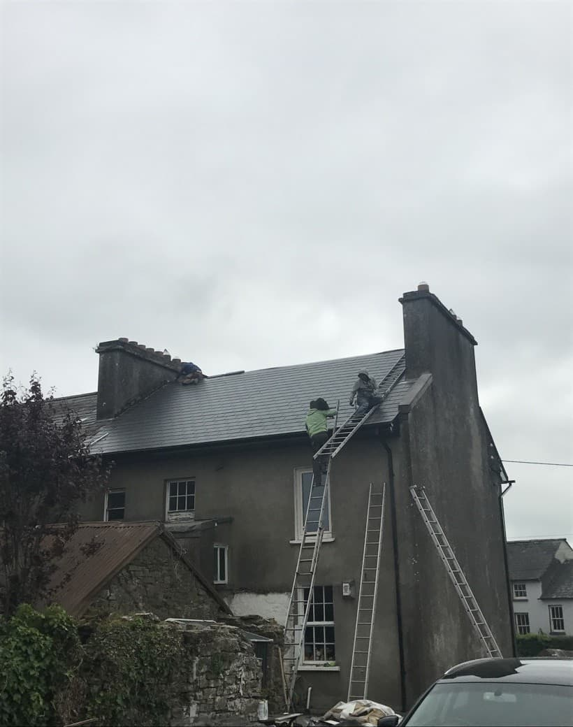 After New Slate Roof