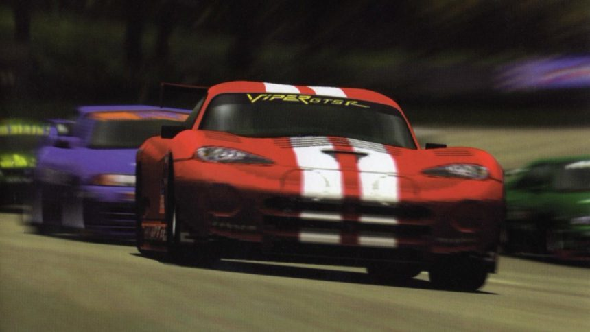 A Viper GTS-R blasts through the pack. Photo © 1998 Polyphony Digital, Sony; Retrieved from GTPlanet