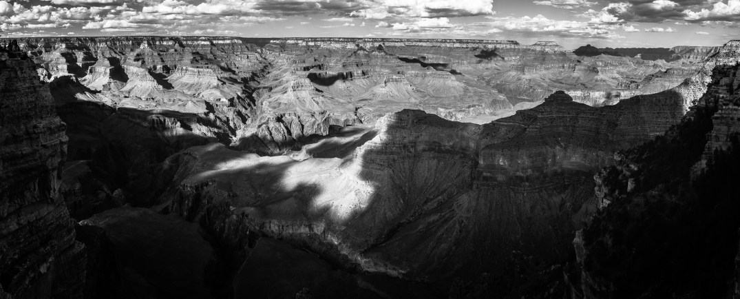 A Panoramic shot of the Grand Canyon with the Spiratone 20mm F2.8.