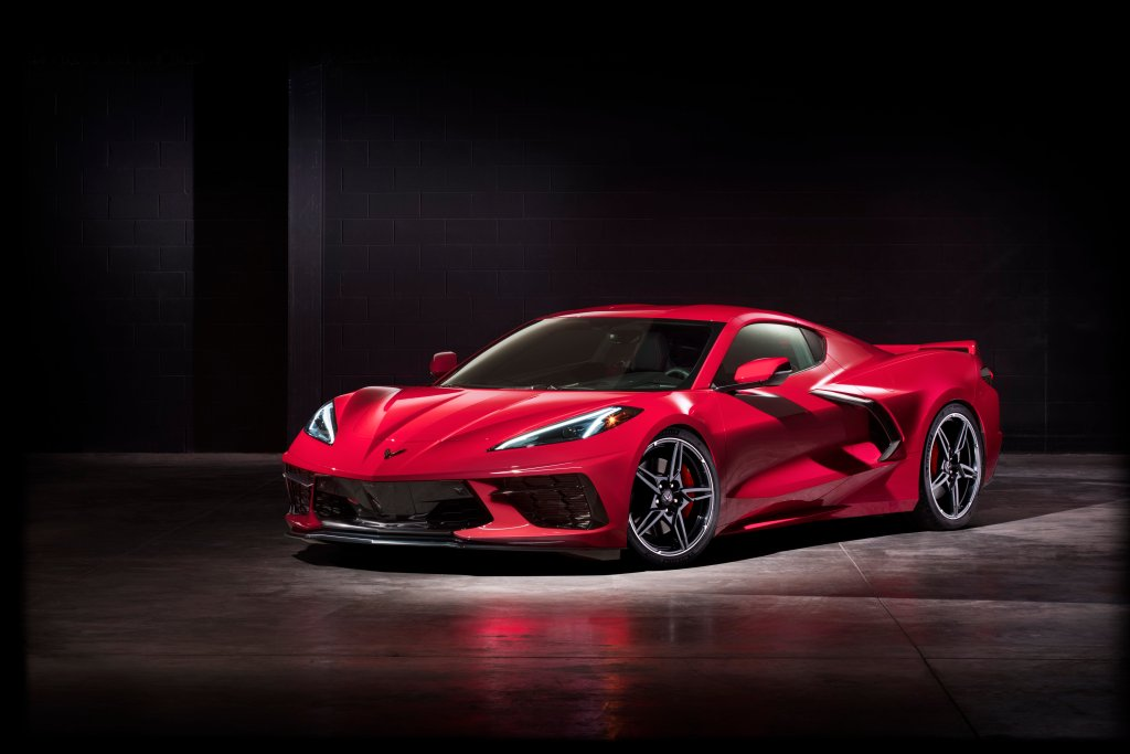 The C8 Corvette Stringray