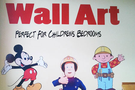Wall art - perfect for childrens bedrooms