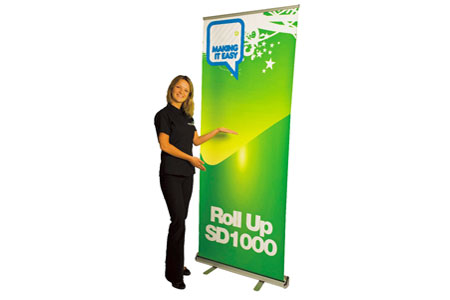 SD1000 Roll Up Banner