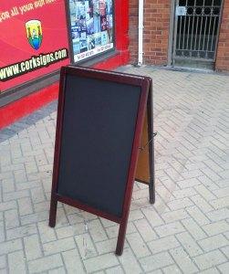 Blackboard Pavement Display
