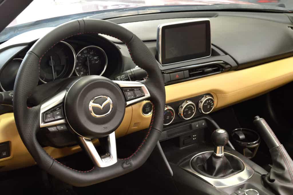 miata steering wheel corksport