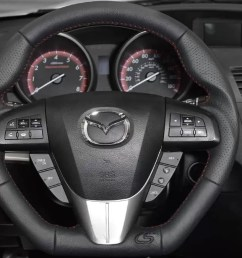 upgrade the look of your interior with the corksport leather wrapped steering wheel for the 2010  [ 1200 x 675 Pixel ]