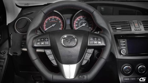 small resolution of upgrade the look of your interior with the corksport leather wrapped steering wheel for the 2010