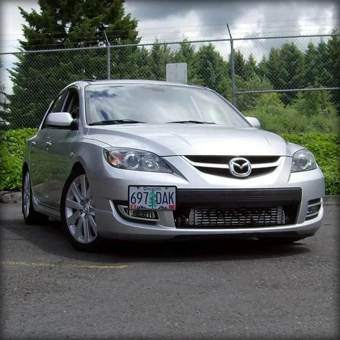 Mazda 3 License Plate Kit License Plate Relocation
