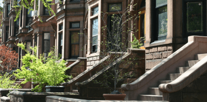 Brownstone Row Houses below Market Value through Short Sales