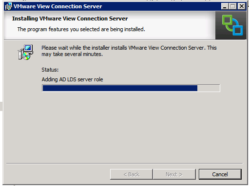 Adding ADLDS Server Role