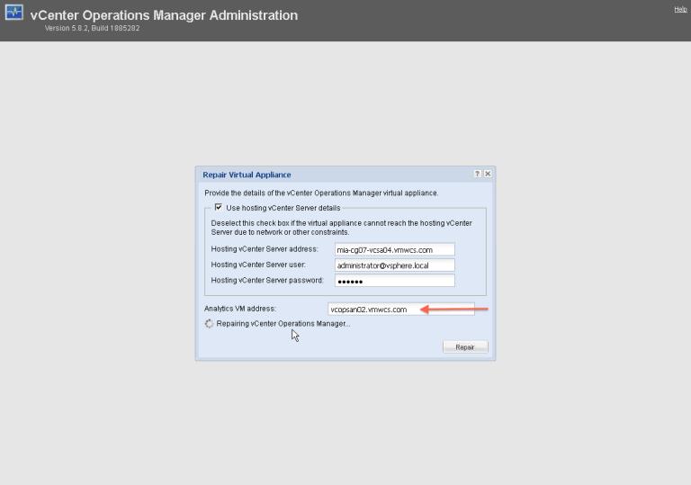 10. repair using DNS