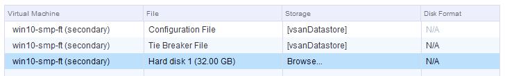 browse vsan datatstore