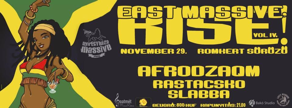 east massive rise