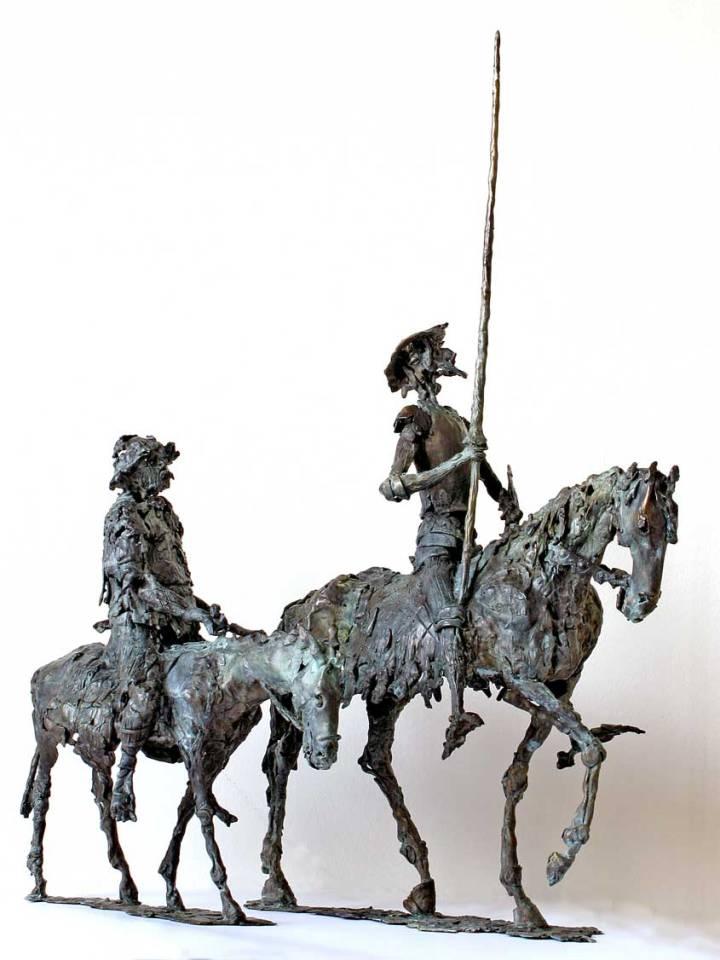 Don Quijote bronzban 2006-ból