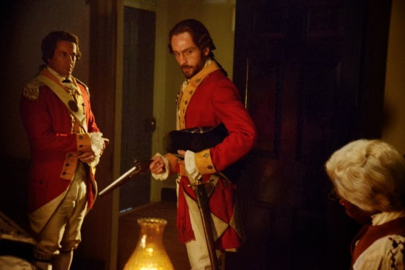 """SLEEPY HOLLOW: An event from Ichabod Crane's (Tom Mison, C) past weighs heavily on him in """"The Sin Eater"""" episode of SLEEPY HOLLOW airing Monday, Nov. 4 (9:00-10:00 PM ET/PT) on FOX. ©2013 Fox Broadcasting Co. CR: Brownie Harris/FOX"""