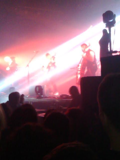 Apocalyptica koncert - Egy istenien mázlis este
