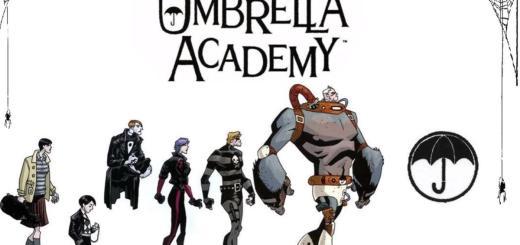 Umbrella Academy. Forrás: Dark Horse Comics.