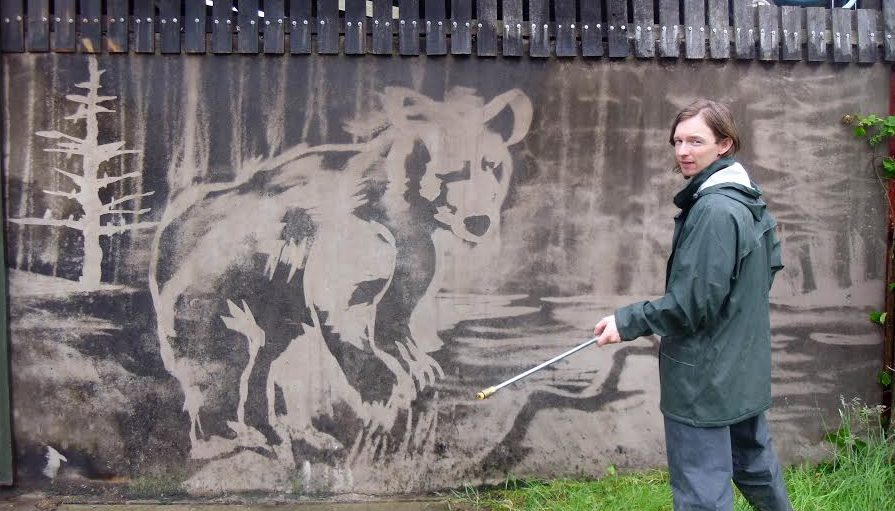 Power-Hose Murals