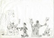thumbnail of a child's drawing by Corne Akkers