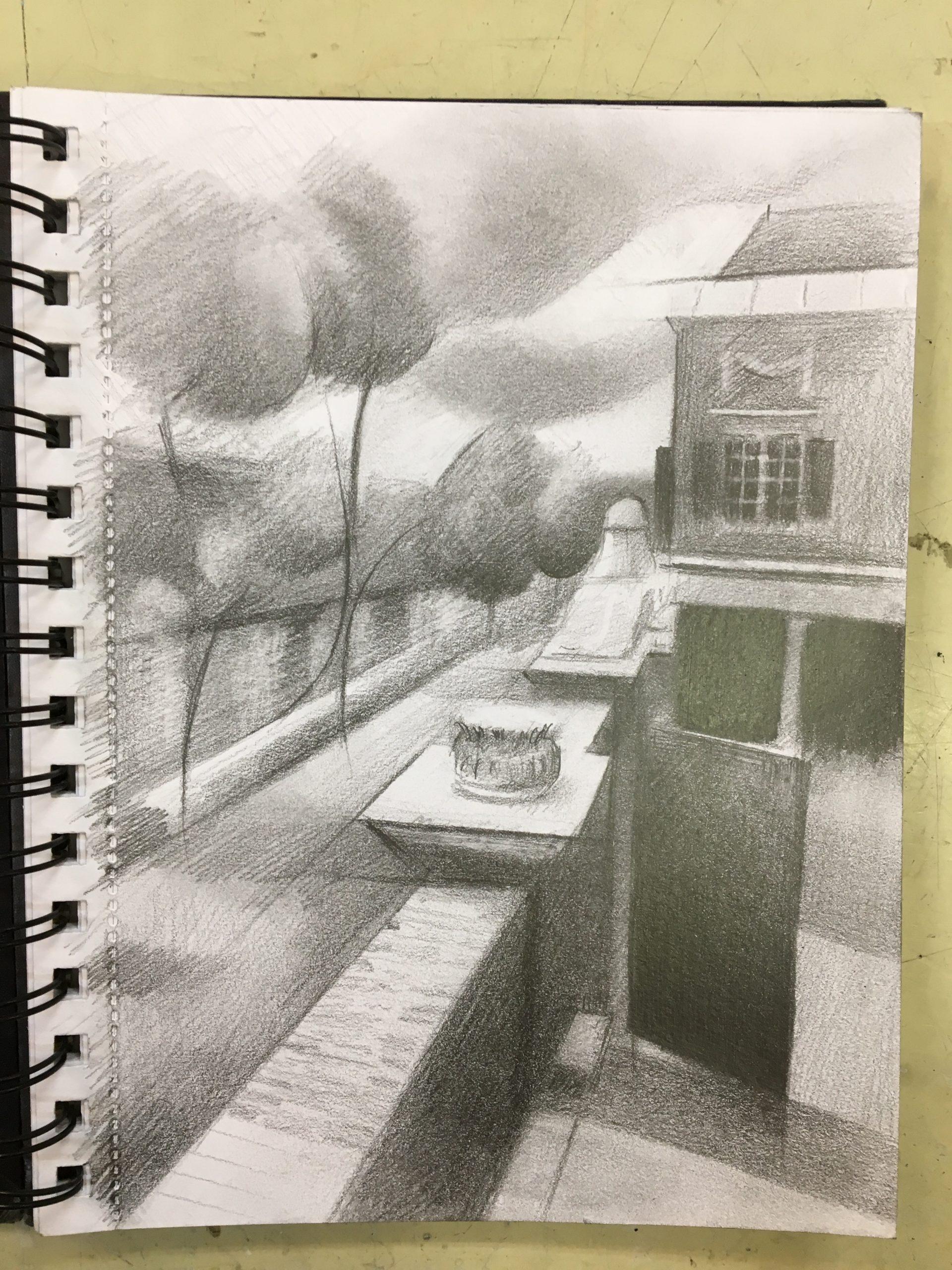 work in progress on De Lakenhal - 16-08-19