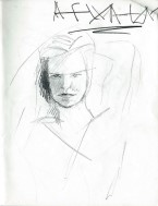 Realistic graphite pencil sketch thumbnail