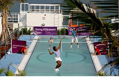 Hotel Gansevoort - Serena vs. Rafa2008