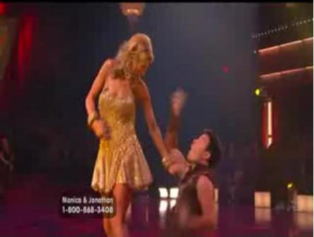 Monica Seles - Dancing with the Stars Night 2