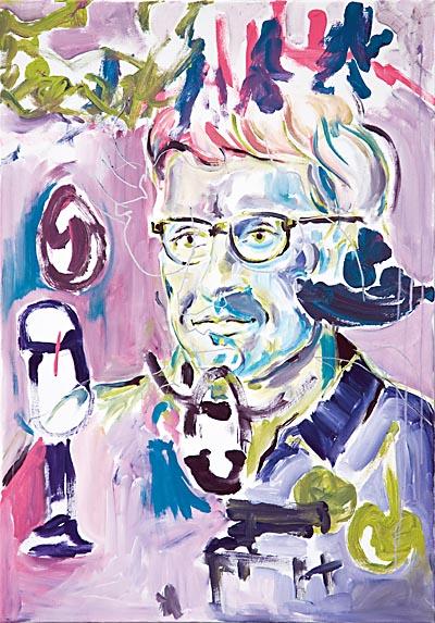 blind portrait David Riedel