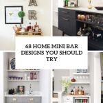 Home Mini Bar Designs You Should Try