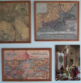 Middeleeuwen: wereldkaart, Constantinopel en handel.