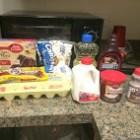 Chocolate cake ingredients. (Evan Kravitz / Sun Contributor)