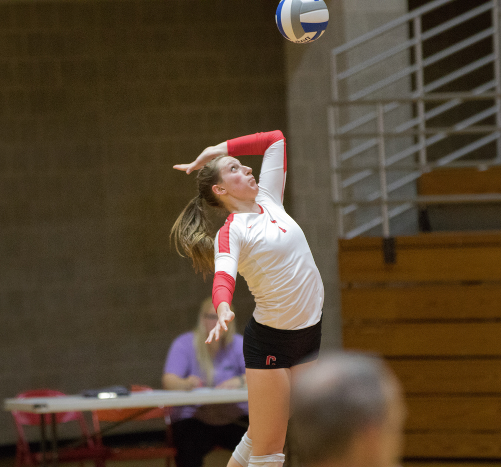 Alyssa Phelps' strong performance earned her All-Tournament honors in the Cornell Invitational held over the weekend.