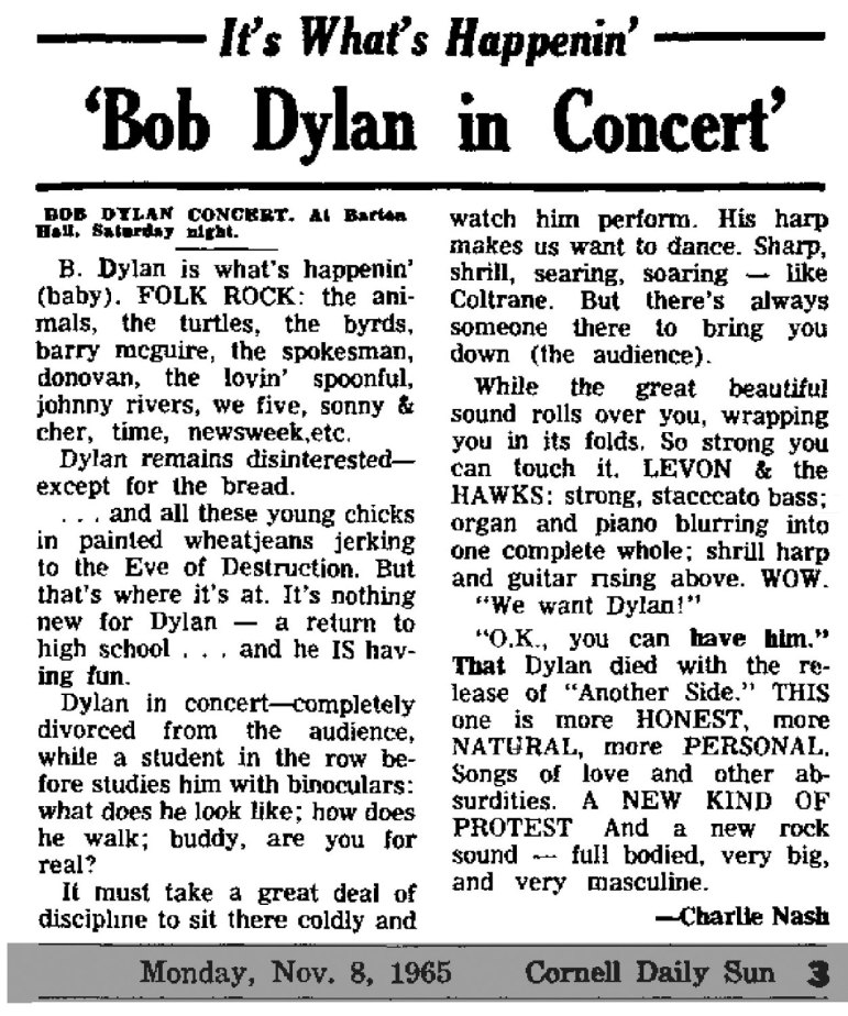 Pg-10-Arts-Dylan-11-06-65-C.U.-Concert-(from-11-08-65-Sun)