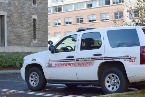 CUPD Police Car (Michelle Fraling / Sun Senior Photographer)