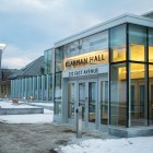 Klarman Hall, which features a large glass-enclosed atrium, opened on Jan. 19.