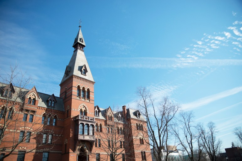 Sage Hall is home to the SC Johnson Graduate School of Management, one of the three schools that are now part of the SC Johnson College of Business.