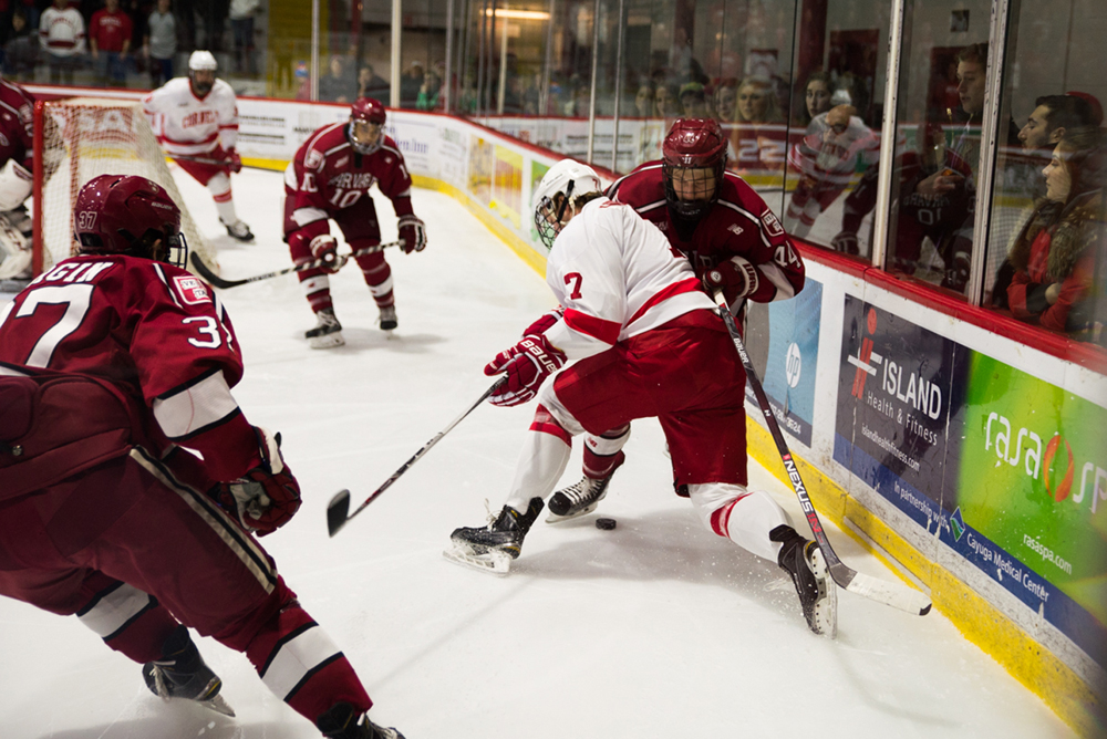 Jake Weidner and the Red are gearing up for an important weekend of games against in-conference opponents