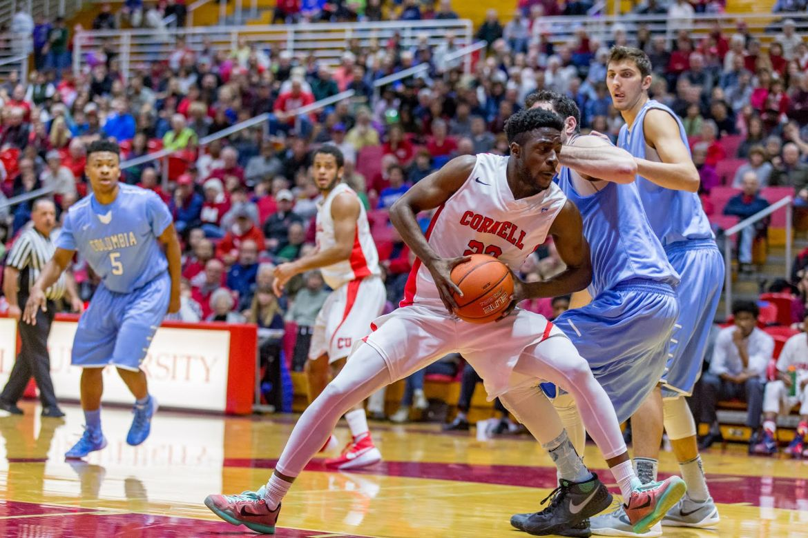 In his first career start, freshman guard Joel Davis had 6 points and 3 assists in Cornell's loss to Columbia.