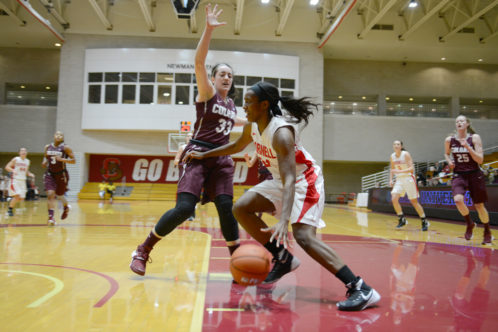 Nia Marshall and Cornell women's basketball will get a chance to move up in the Ivy rankings with a pair of in-conference games this weekend.