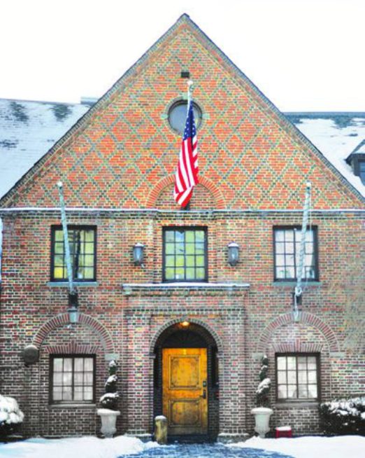 Psi Upsilon Fraternity is located on 2 Forest Park Lane on West Campus.