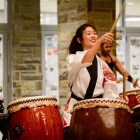 Over 1,200 Cornellians attended the 11th annual Asia Night, which featured over 20 performances and 50 booths, at Duffield Hall Saturday evening.