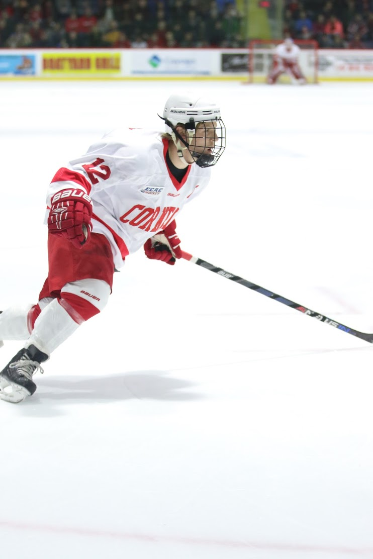 Senior John Knisely scored the Red's lone goal in a 1-0 victory over Princeton