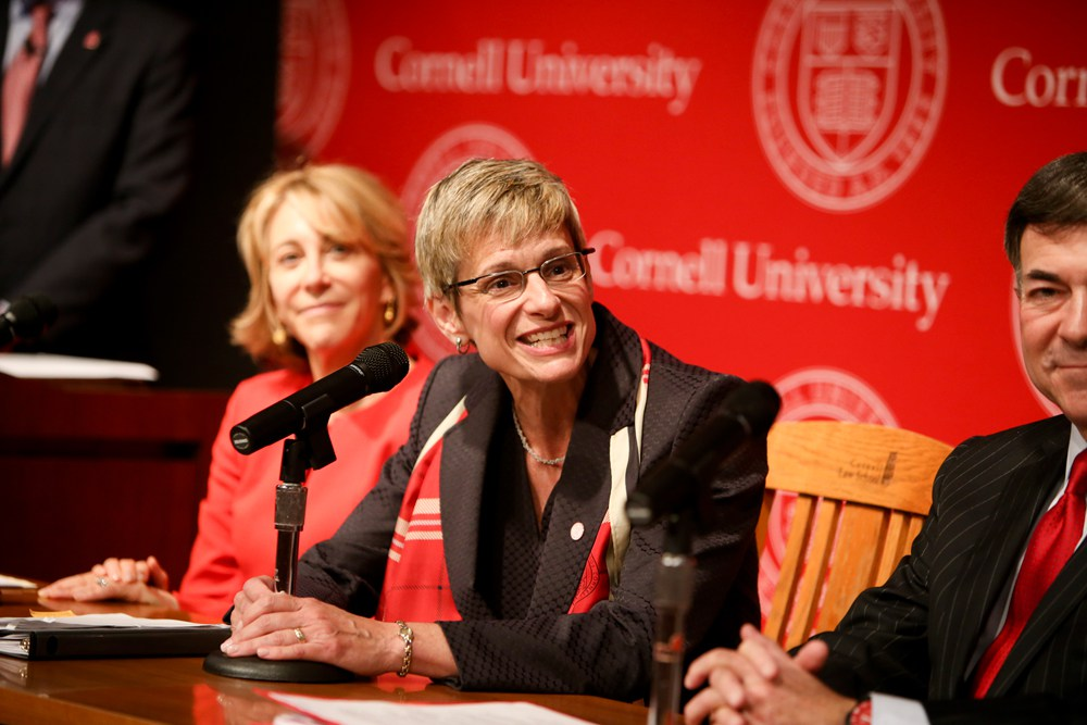 Weill Cornell Medicine Creates Colon Cancer Fund For President Elizabeth Garrett The Cornell Daily Sun