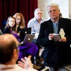 Paula Vogel at Second Stage Theatre in 2012.