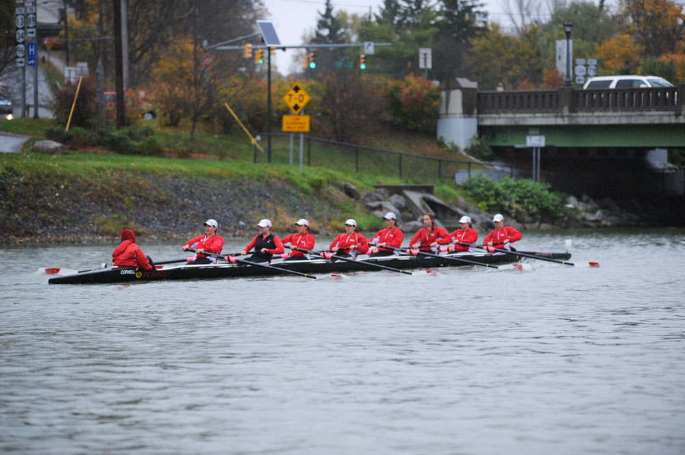 The women's team won two of six races last weekend in Ithaca.