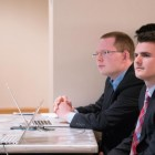 Students compete in Cornell Hedge Fund's Case Competition.