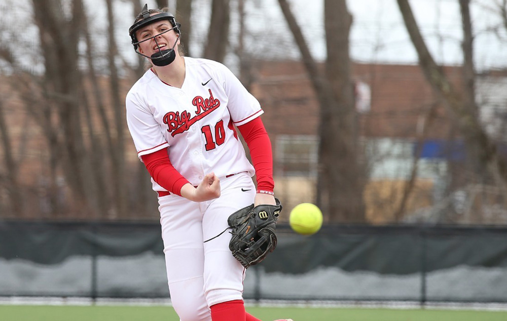 Softball hopes to play spoiler and steal games against Princeton to finish off the Red's season.