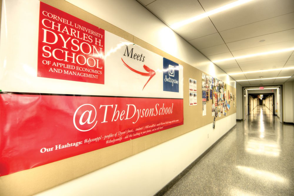 The Dyson school is one college that will be merged into the new business college this summer.