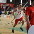 The Red came up short against the Tigers in February at indoor heps.