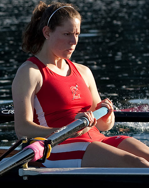 Eisser '12 finished in 5th place in the quadruple sculls final.