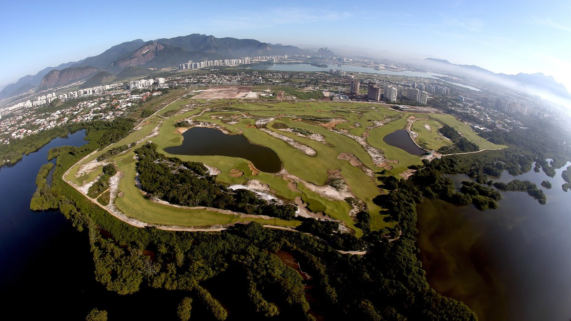 A sneak preview at the 2016 Rio Olympic golf course, designed by Gil Hanse LA '89.